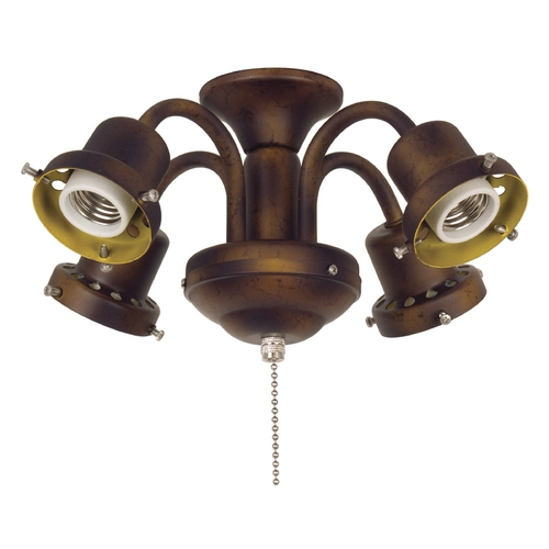 Fanimation Fans Light Kit in Bronze Accent Finish F404BA