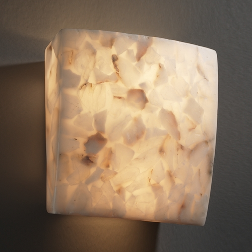 Justice Design Group Justice Design Group Alabaster Rocks! Collection Sconce ALR-5120