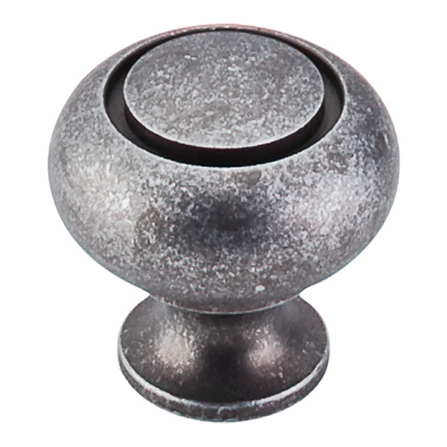 Top Knobs Hardware Cabinet Knob in Pewter Finish M598