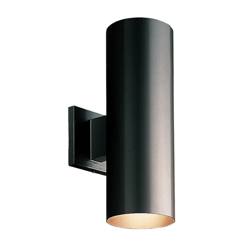 Progress Lighting Cylinder Black Outdoor Wall Light Accessory P5675 31 De