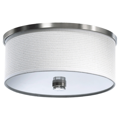 Quorum Lighting Quorum Lighting Copeland Satin Nickel Flushmount Light 659-14-65
