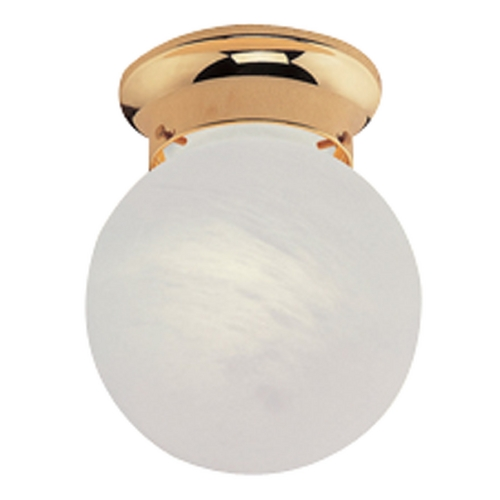 Livex Lighting Livex Lighting Polished Brass Flushmount Light 7010-02