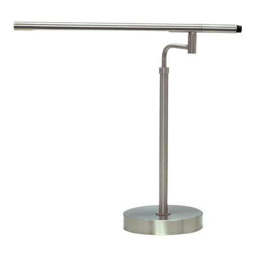 House of Troy Lighting House Of Troy Slim-Line Satin Nickel LED Desk Lamp SLED550-SN