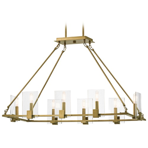 Kichler Lighting Kichler Lighting Signata Natural Brass Chandelier 43703NBR