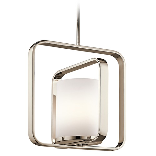 Kichler Lighting Kichler Lighting City Loft Pendant Light with Cylindrical Shade 43784PN