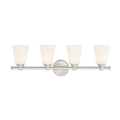 Designers Fountain Lighting Designers Fountain Parker Satin Platinum LED Bathroom Light LED6894-SP
