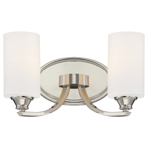 Minka Lighting Minka Tilbury Polished Nickel Bathroom Light 3982-613
