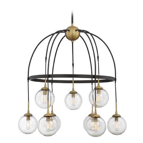 Savoy House Savoy House Lighting Fulton English Bronze & Warm Brass Chandelier 1-5004-9-79