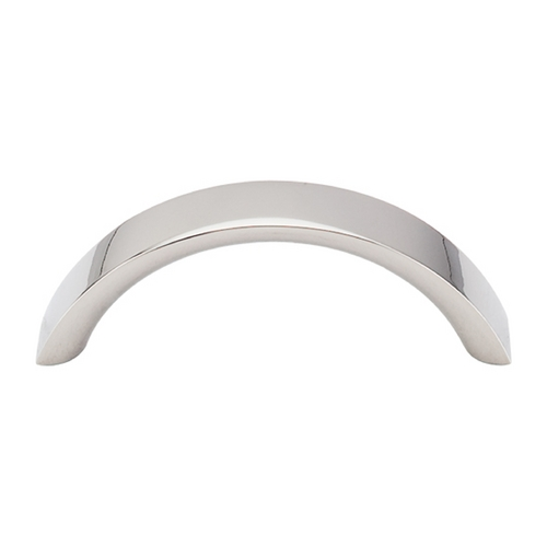 Top Knobs Hardware Modern Cabinet Pull in Polished Nickel Finish M1737