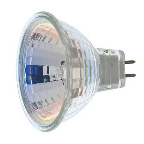 Satco Lighting 50-Watt MR16 Tungsten Halogen Reflector Light Bulb S1960