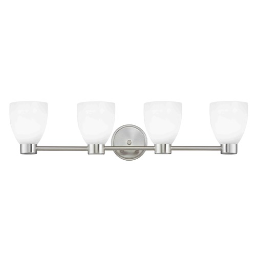 Design Classics Lighting Design Classics Lighting Aon Fuse Satin Nickel Bathroom Light 1804-09 GL1028MB