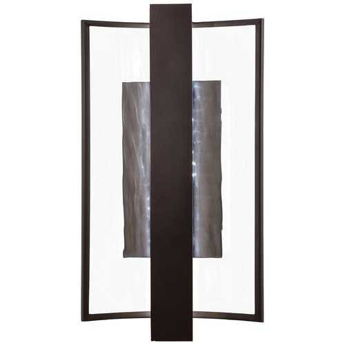 George Kovacs Lighting Minka Sidelight Dorian Bronze Outdoor Wall Light P1207-615B-L