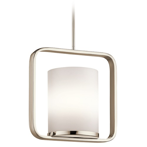 Kichler Lighting Kichler Lighting City Loft Pendant Light with Cylindrical Shade 43785PN