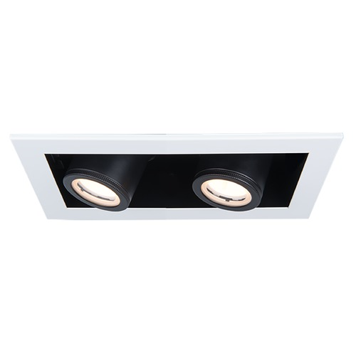 WAC Lighting Wac Lighting Silo Multiples White / Black LED Recessed Kit MT-4215T-940-WTBK
