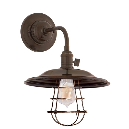 Hudson Valley Lighting Sconce Wall Light in Old Bronze Finish 8000-OB-MS2-WG
