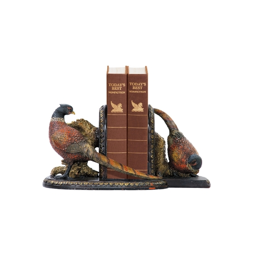 Sterling Lighting Country Pheasants Decorative Bookends 91-3722