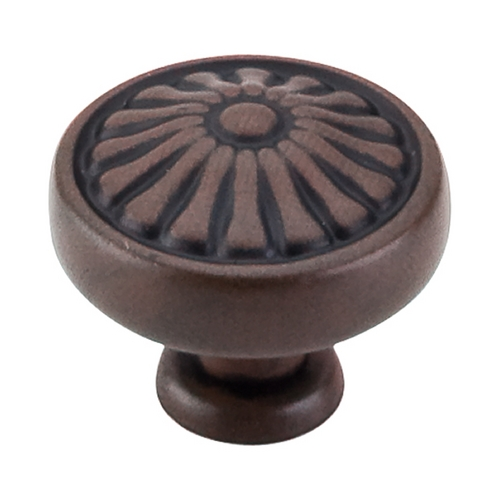 Top Knobs Hardware Cabinet Knob in Patina Rouge Finish M600