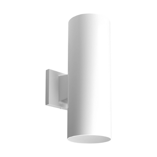 Progress Lighting Progress Modern Outdoor Wall Light in White Finish P5675-30