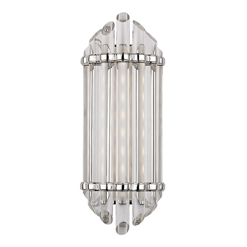Hudson Valley Lighting Albion Polished Nickel LED Bathroom Light 408-PN
