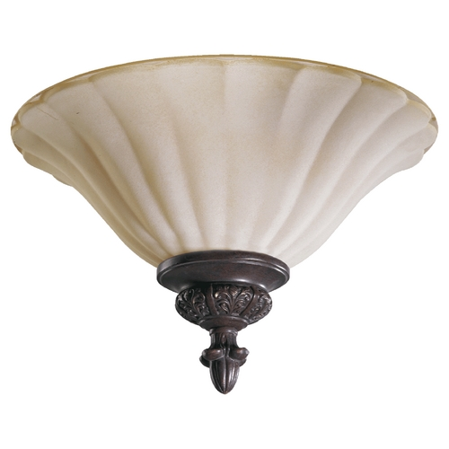 Quorum Lighting Quorum Lighting Coronado Gilded Bronze Flushmount Light 3095-13-38