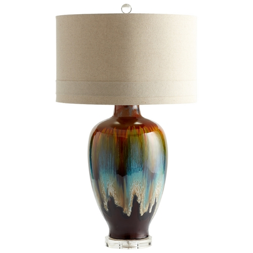 Cyan Design Cyan Design Hayes Brown - Bronze - Rust Table Lamp with Drum Shade 05574