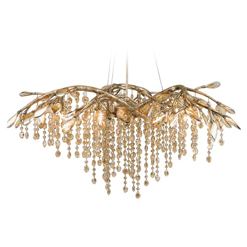 Golden Lighting Golden Lighting Autumn Twilight Mystic Gold Chandelier 9903-6 MG