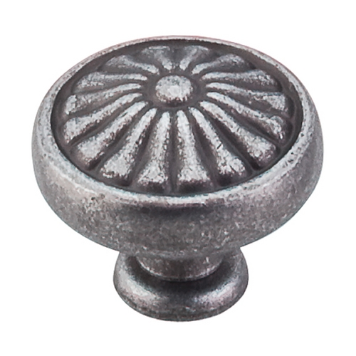 Top Knobs Hardware Cabinet Knob in Pewter Finish M601