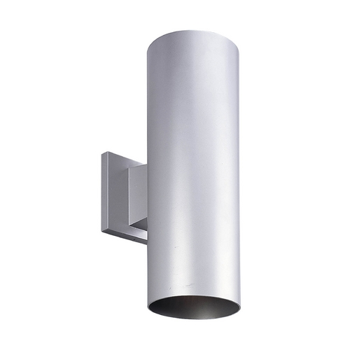 Progress Lighting Progress Lighting Cylinder Metallic Gray Outdoor Wall Light P5675-82