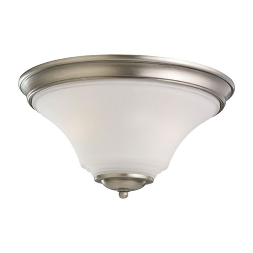 Sea Gull Lighting Sea Gull Lighting Somerton Antique Brushed Nickel Flushmount Light 75375BLE-965