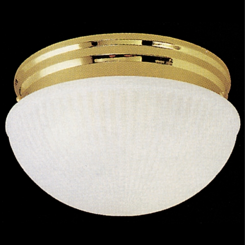 Livex Lighting Livex Lighting Polished Brass Flushmount Light 6091-02