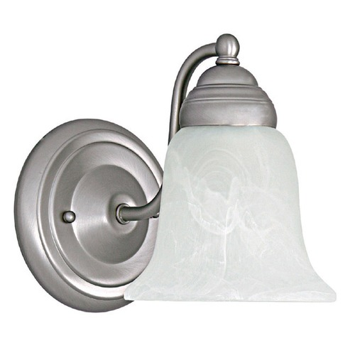 Capital Lighting Capital Lighting Matte Nickel Sconce 1361MN-117
