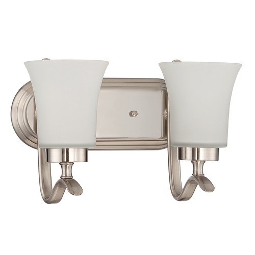 Craftmade Lighting Craftmade Northlake Satin Nickel Bathroom Light 38302-SN