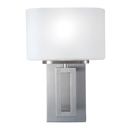 Norwell Lighting Norwell Lighting Hamilton Brush Nickel Sconce 5164-BN-MO
