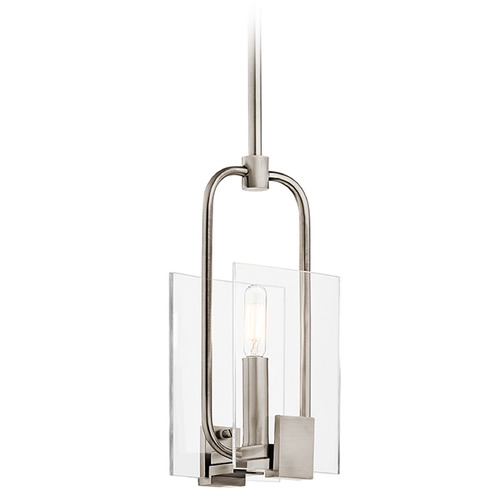 Kichler Lighting Kichler Lighting Signata Classic Pewter Mini-Pendant Light 43705CLP