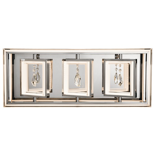 Elan Lighting Elan Lighting Maze Chrome LED Bathroom Light 83372