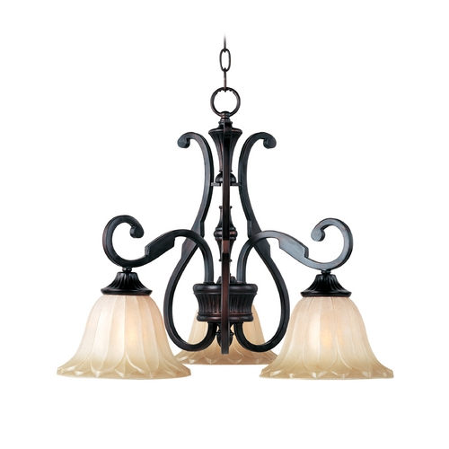 Maxim Lighting Maxim Lighting Allentown Oil Rubbed Bronze Chandelier 13504WSOI