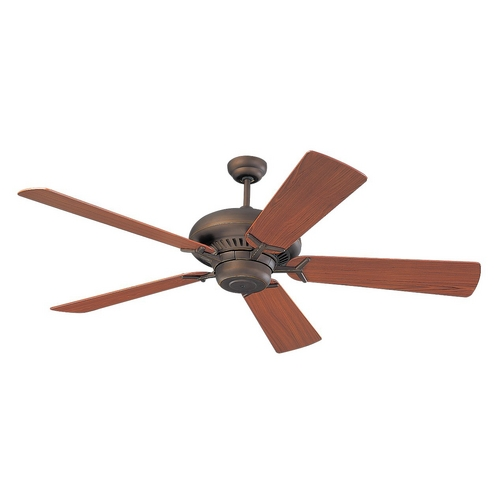 Monte Carlo Fans Ceiling Fan Without Light in Roman Bronze Finish 5GP60RB
