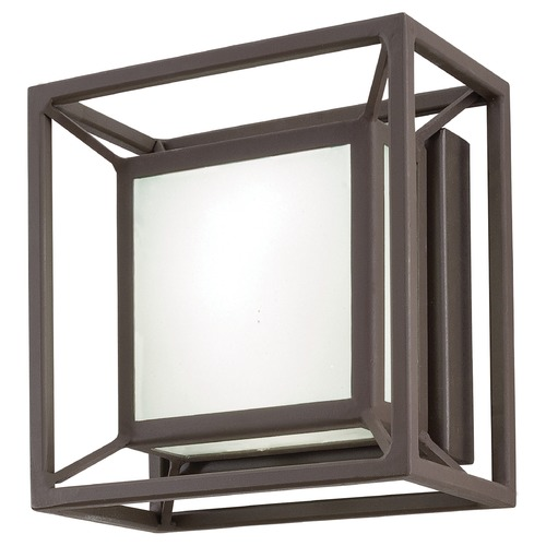 George Kovacs Lighting George Kovacs Pocket Sand Bronze LED Outdoor Wall Light P1202-287-L