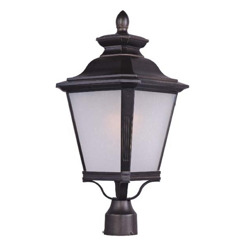 Maxim Lighting Maxim Lighting Knoxville Bronze Post Light 1121FSBZ