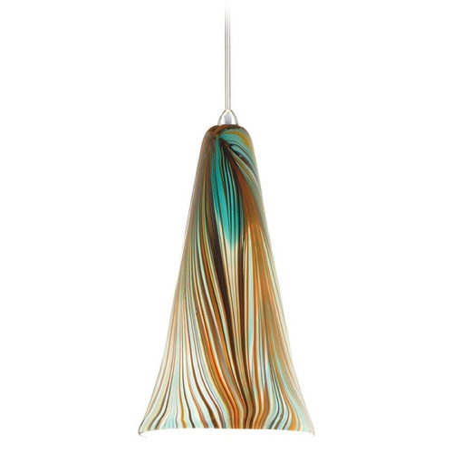 WAC Lighting Wac Lighting Artisan Collection Chrome Mini-Pendant with Conical Shade MP-630-PK/CH