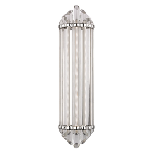 Hudson Valley Lighting Albion Polished Nickel LED Bathroom Light 414-PN
