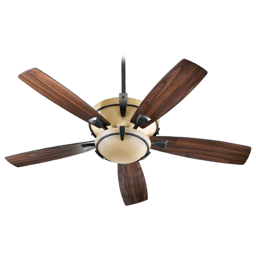 Quorum Lighting Quorum Lighting Mendocino Old World Ceiling Fan with Light 61525-995