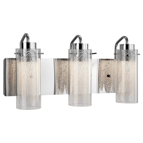 Elan Lighting Elan Lighting Krysalis Chrome LED Bathroom Light 83771