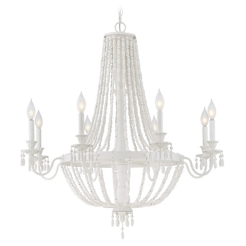 Savoy House Savoy House Lighting Geneva Porcellan Chandelier 1-5091-8-82