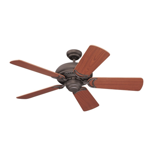 Monte Carlo Fans Ceiling Fan Without Light in Roman Bronze Finish 5HS42RB