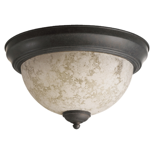 Quorum Lighting Quorum Lighting Naturals Toasted Sienna Flushmount Light 3076-11-44