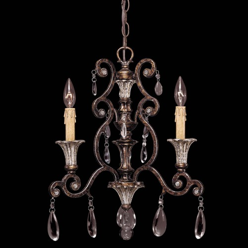 Savoy House Savoy House New Tortoise Shell W/silver Mini-Chandelier 1-3000-3-8