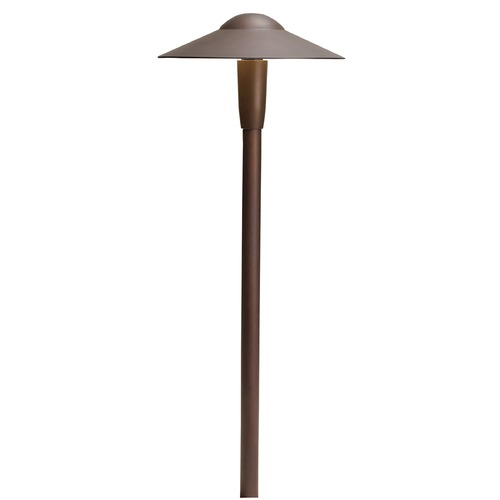 Kichler Lighting Kichler Lighting Bronzed Brass LED Path Light 15810BBR30R