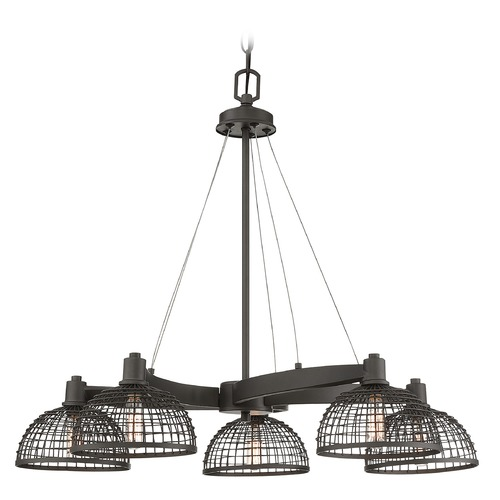Savoy House Savoy House Lighting Wexford Remington Bronze Chandelier 1-6020-5-83