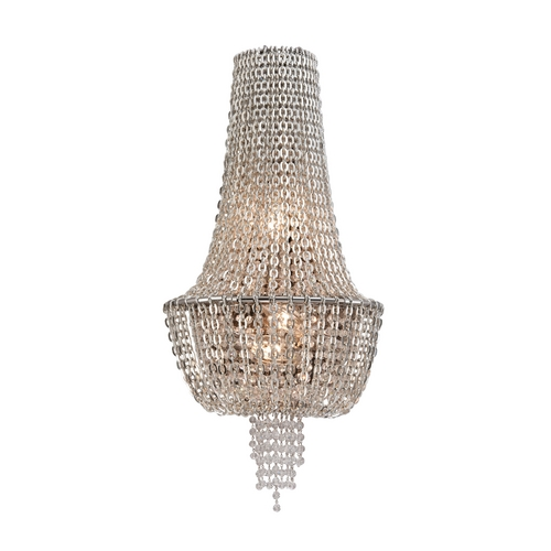 Corbett Lighting Corbett Lighting Vixen Polished Nickel Jewerly Chain Sconce 141-13
